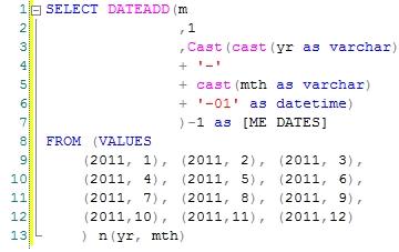 WestClinTech - SQL Server Functions - Blog - How about a