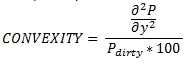 XLeratorDB formula for the OFCCONVEXITY SQL Server function - Convexity of a bond with and odd first coupon