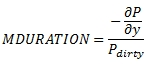 XLeratorDB formula for the OFCMDURATION SQL Server function  - Modified duration of a bond with an odd first coupon