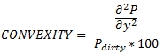 XLeratorDB securities convexity formula for SQL Server