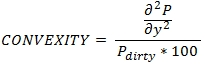 XLeratorDB regular periodic interest convexity formula for RPICONVEXITY function for SQL Server
