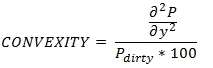 XLeratorDB convexity formula for STEPCONVEXITY function for SQL Server